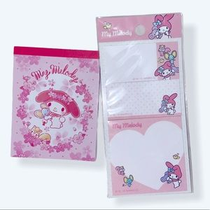 My Melody stationary set